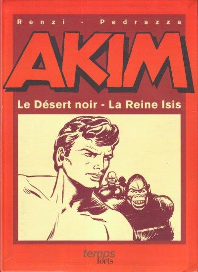 Couverture de Akim (1re série) -HS2- Le désert noir - La reine Isis