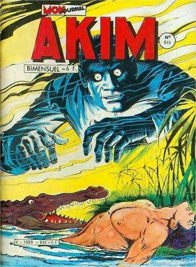 Couverture de Akim (1re série) -610- L'homme bionique