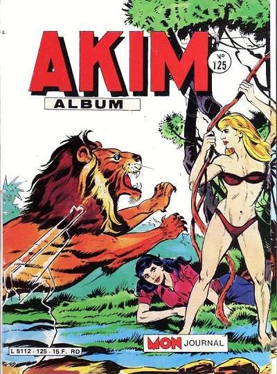 Couverture de Akim (1re série) -Rec125- Album N°125 (du n°621 au n°624)