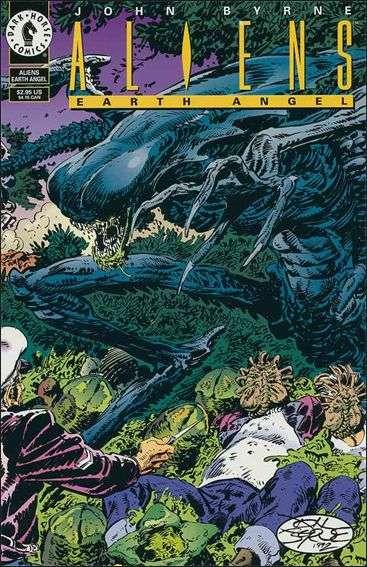 Couverture de Aliens (One shots) -INT- Earth angel