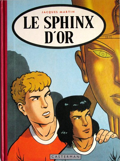 Couverture de Alix (Fac-Similé) -2- Le sphinx d'or
