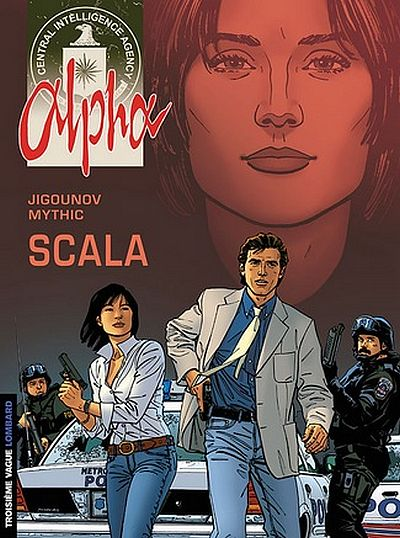 Couverture de Alpha (Lombard) -9- Scala