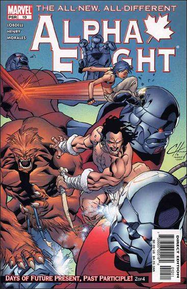 Couverture de Alpha Flight (2004) -10- Days of future present, past participle part 2