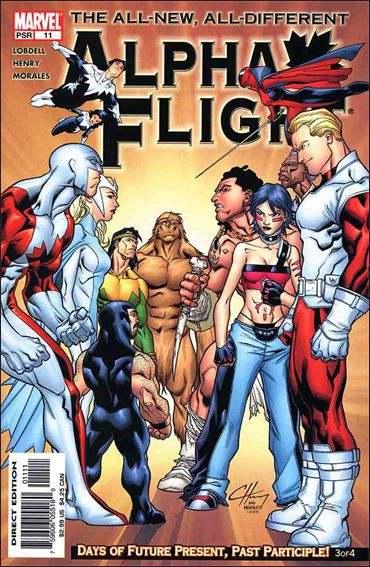Couverture de Alpha Flight (2004) -11- Days of future present, past participle part 3