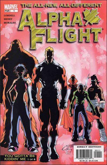 Couverture de Alpha Flight (2004) -1- You gotta be kiddin' me part 1
