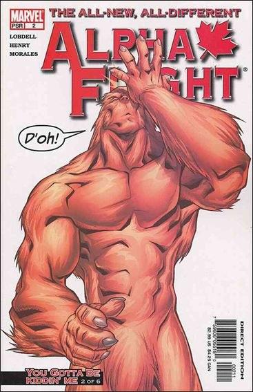 Couverture de Alpha Flight (2004) -2- You gotta be kiddin' me part 2