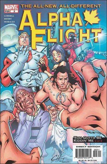 Couverture de Alpha Flight (2004) -3- You gotta be kiddin' me part 3