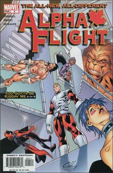 Couverture de Alpha Flight (2004) -4- You gotta be kiddin' me part 4