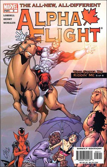 Couverture de Alpha Flight (2004) -5- You gotta be kiddin' me part 5