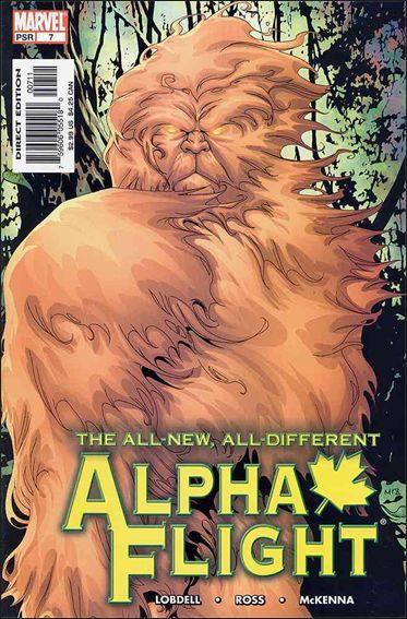 Couverture de Alpha Flight (2004) -7- Waxing poetic part 1