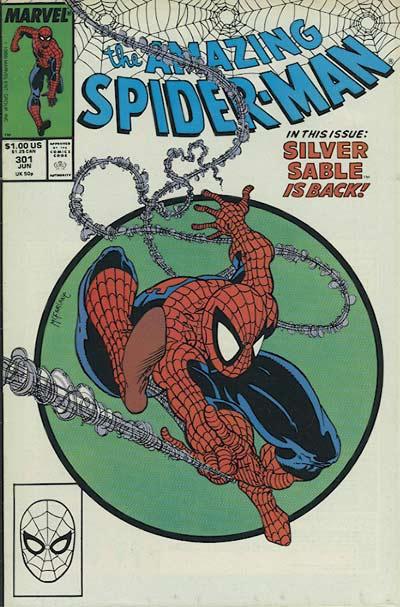 Couverture de The amazing Spider-Man Vol.1 (Marvel comics - 1963) -301- The sable gauntlet!