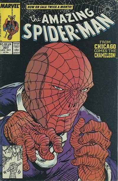 Couverture de The amazing Spider-Man Vol.1 (Marvel comics - 1963) -307- The thief who stole himself!