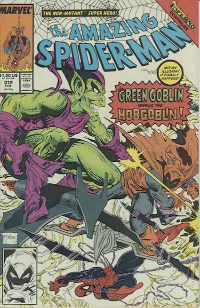 Couverture de Amazing Spider-Man (The) (1963) -312- The goblin war!