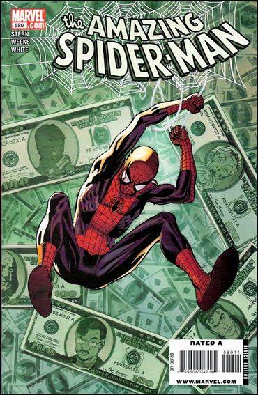 Couverture de Amazing Spider-Man (The) Vol.2 (Marvel comics - 1999) -580- Fill in the blank