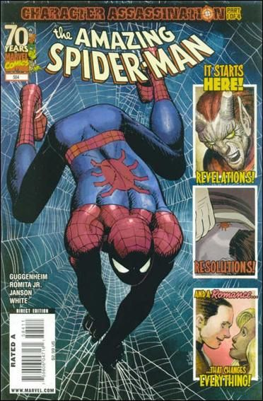 Couverture de Amazing Spider-Man (The) Vol.2 (Marvel comics - 1999) -584- Character assassination part 1