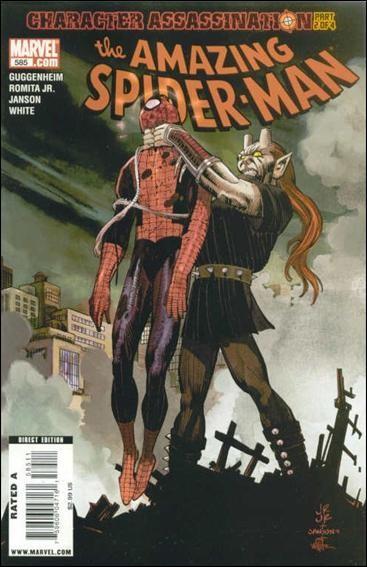 Couverture de Amazing Spider-Man (The) Vol.2 (Marvel comics - 1999) -585- Character assassination part 2
