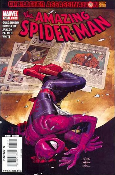 Couverture de Amazing Spider-Man (The) Vol.2 (Marvel comics - 1999) -588- Character assassination part 4