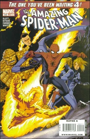 Couverture de Amazing Spider-Man (The) Vol.2 (Marvel comics - 1999) -590- Face front part 1 : together again for the first time