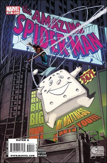 Couverture de Amazing Spider-Man (The) Vol.2 (Marvel comics - 1999) -594- 24/7 part 3