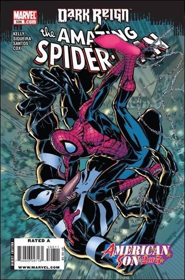 Couverture de Amazing Spider-Man (The) Vol.2 (Marvel comics - 1999) -596- American Son part 2