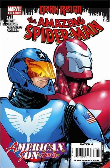 Couverture de Amazing Spider-Man (The) Vol.2 (Marvel comics - 1999) -599- American Son conclusion