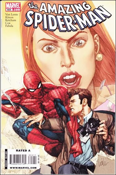 Couverture de Amazing Spider-Man (The) Vol.2 (Marvel comics - 1999) -604- Red-headed stranger : the ancient gallery