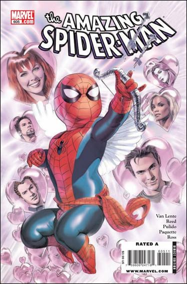 Couverture de Amazing Spider-Man (The) Vol.2 (Marvel comics - 1999) -605- The girl / models stink / match.com
