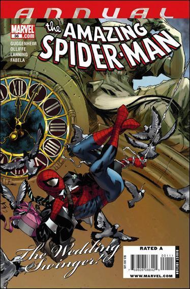 Couverture de The amazing Spider-Man Vol.1 (Marvel comics - 1963) -AN36- The wedding swinger