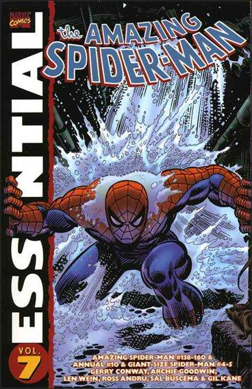 Couverture de Essential Spider-Man (The) / Essential: The Amazing Spider-Man (2001) -INT07- Volume 7