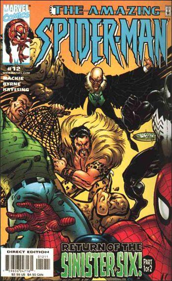 Couverture de Amazing Spider-Man (The) Vol.2 (Marvel comics - 1999) -12- Another Return of the Sinister Six!