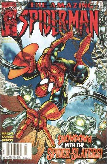 Couverture de Amazing Spider-Man (The) Vol.2 (Marvel comics - 1999) -21- Slayers to the left of me