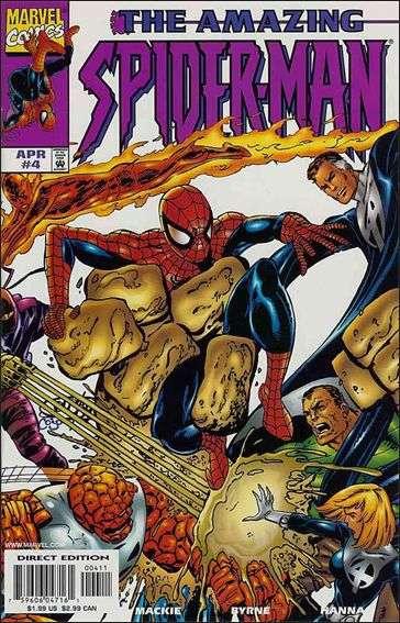 Couverture de Amazing Spider-Man (The) Vol.2 (Marvel comics - 1999) -4- Betrayals