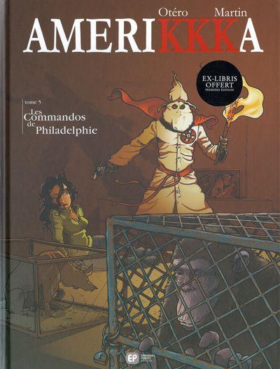 Couverture de Amerikkka -5- Les Commandos de Philadelphie