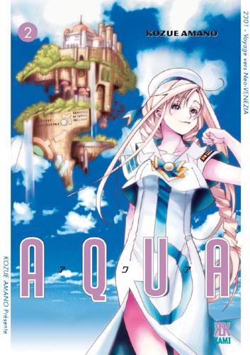 Couverture de Aqua -2- Tome 2