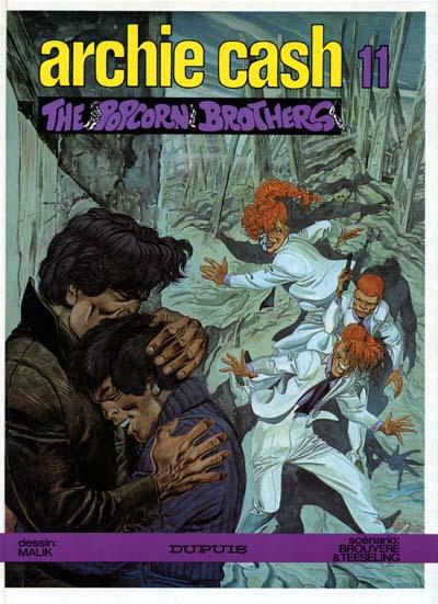 Couverture de Archie Cash -11- The popcorn brothers