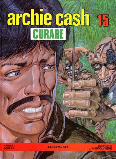 Couverture de Archie Cash -15- Curare