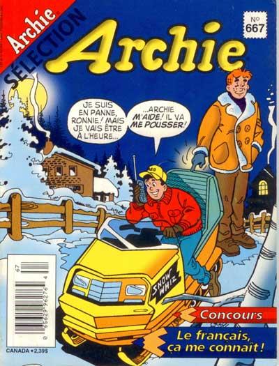 Couverture de Archie Sélection -667- L'arche de jughead
