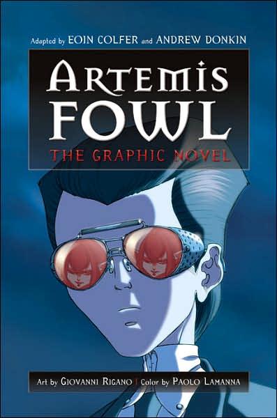 artemis fowl 2007 artemis fowl the graphic novel. Black Bedroom Furniture Sets. Home Design Ideas