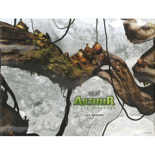 Couverture de Arthur et les Minimoys - Art of