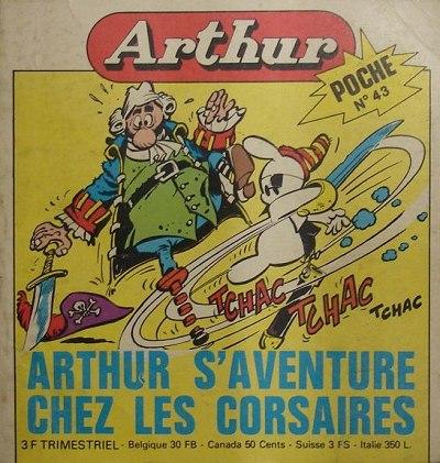 Couverture de Arthur le fantôme (Poche) -43- Poche n°43