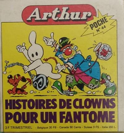 Couverture de Arthur le fantôme (Poche) -44- Poche n°44