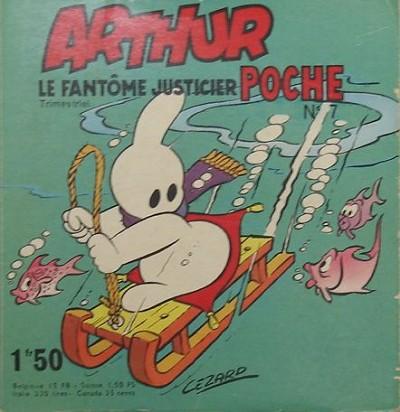 Couverture de Arthur le fantôme (Poche) -7- Poche n°7