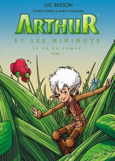 Couverture de Arthur et les Minimoys -1- Tome 1