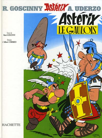 Couverture de Astérix (Hachette) -1- Astérix le Gaulois