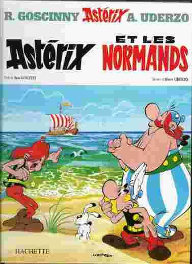 Couverture de Astérix (Hachette) -9- Astérix et les Normands
