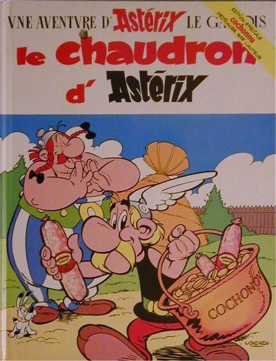 Couverture de Astérix (Publicitaire) -Cochonou- Le chaudron d'Asterix
