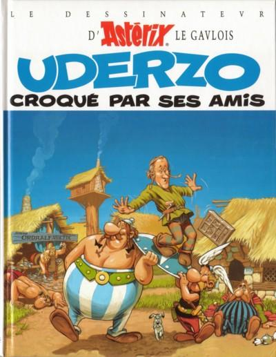 Couverture de Astérix (Autres) -10- Uderzo croqué par ses amis