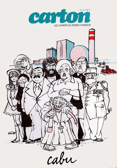 Couverture de (DOC) Carton - Les cahiers du dessin d'humour -4- Cabu