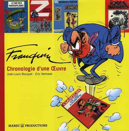Couverture de (AUT) Franquin -24- Franquin, chronologie d'une Œuvre
