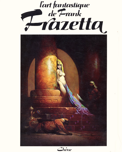 Couverture de (AUT) Frazetta -1- L'art fantastique de Frank Frazetta
